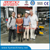 Canada client visiting our factory for cutting to length line
