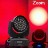 36*10 RGBW 4IN1 ZOOM led moving head wash light/stage light