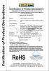 file cabinet RoHS certificate