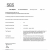 SGS Fr Certification for Furniture--UK Standard