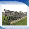 perforated metal panel as temporary fence