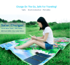 Solar charger for mobile phone with outdoor playing mat