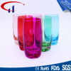 390ml Colorful Machine Blown Glass Water Cup (CHM8016)