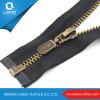 Bag/Clothing/Garment Gold Custom Metal Zipper