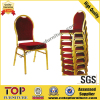 Hot sale hotel metal banquet hall chair
