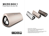 10W Aluminium Housing Stereo Bluetooth Speaker