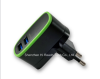 Adaptive Dual USB Travel Charger with UK EU Plug 5V 3.1A
