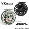 Large drag knob waterproof fly reel VX