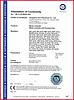 CE Certificate - Steel Conduit System