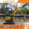 Australian clients visit CT16 zero tail mini excavator
