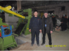 Our Flat Bar Cutting Line which installed in Russia