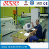 Russian client testing SQ2515-4 axis CNC water jet cutting machine