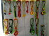 Dog rope toy-show room