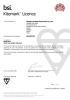 BSI Certificated smoke detector