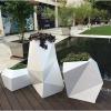 fiberglass planters set
