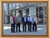 a group photo taken after a project completed successfully