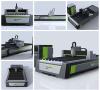 Semi enclosed laser cutting machine
