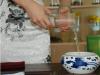 Green Tea brewing art Step 2