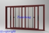 Aluminum Sliding Window with Mosquito Net