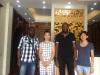 Africa Customers visiting GOSSPO wood doors factory