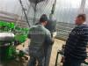Install electric welded wire mesh rolling machine in Ukraine