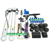 Electrical window kits for car two doors