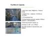 Facilities & Capacity