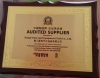 Certificate of Gold supplier