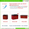 Top sales: High temperature long life deep cycle gel battery upto 12V300Ah