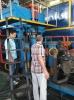 Turkey customer visit SKM Machinery for 1500t machines