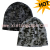 Knitted Beanie With Printing(Jrk017 Jrk018)