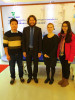 Andy and Paula with Finland customer on plasma sterilizer