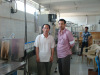 Our engineers installed machines in customer's Water Plant in Bangladesh