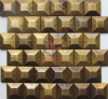 Latest New Copper Design Mosaic Tile(CFM1089)