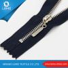 Heavy Duty Metal Double Sided Brass Zipper for Jaceket