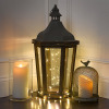 Ivory Moving Flameless Pillar LED Candle for Party and Home Decoration