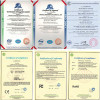 TEEHO Certifications of CE/RoHS/FC