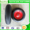 Pneumatic rubber wheelbarrow wheel