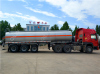 Aug. 24th,2017_Stainless steel water tank semi trailer exported to Kazakhstan