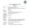 TUV Test Report for VT75 ORING