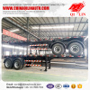 2 axle air suspension skeleton trailer for CNG tank chassis