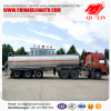 30000liters water tank trailer shipped to Middle Asian market