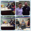 Algeria customer visited our factory