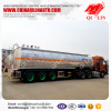 3 axles stainless steel tanker trailer with insulation layer