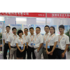 sales team on exhibition