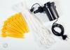 Nail and rope and air pump