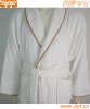 100% cotton waffle luxury hotel bathrobe