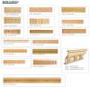 Building Decorations Sandstone Sculpture Wall Tiles