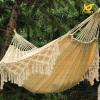 Best Luxury White Cotton Fabric Hanging Fringes Hammock