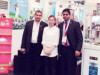 With Sri Lanka Customer on May. 2015 at Sial In Shanghai